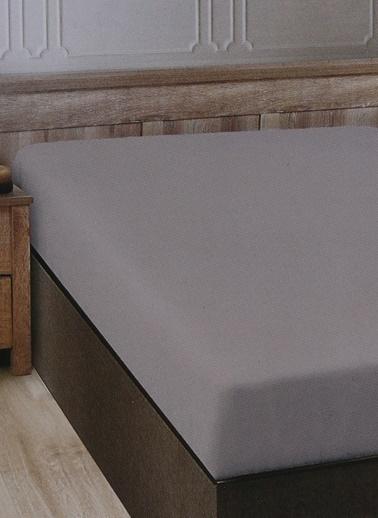 Boyner Evde Boyner Evde 240 x 260 cm  Çift Kişilik Bej Düz Çarşaf Bej